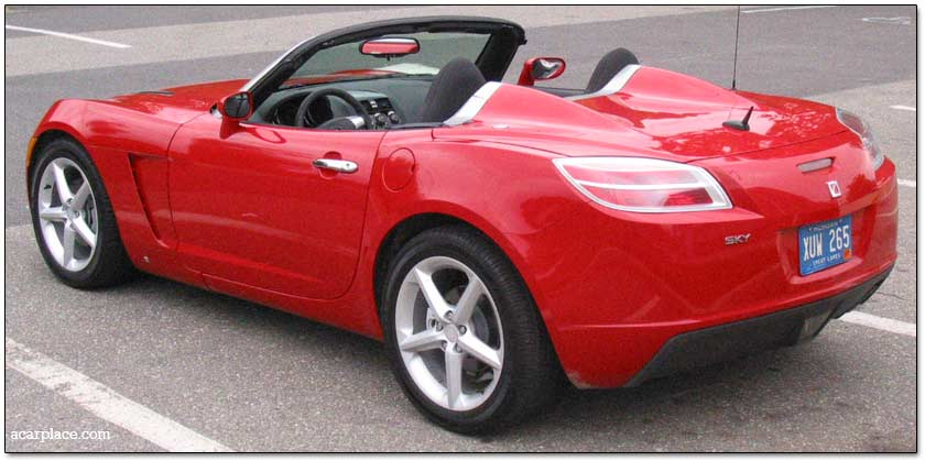 Delightful Saturn Sky Convertible