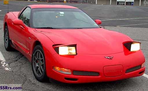 2002 Chevrolet Corvette Z06. chevrolet corvette zo6 front