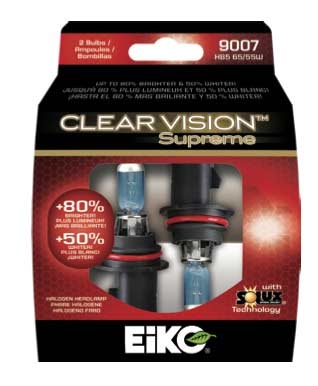 eiko clear vision supreme with solux technology