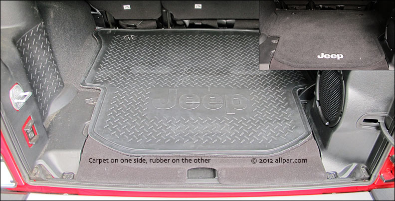 cargo bay rubber mat