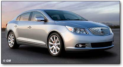 2010 Buick LaCrosse cars
