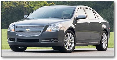 chevy malibu car review
