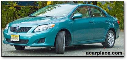 2009 Toyota Corolla XLE car reviews