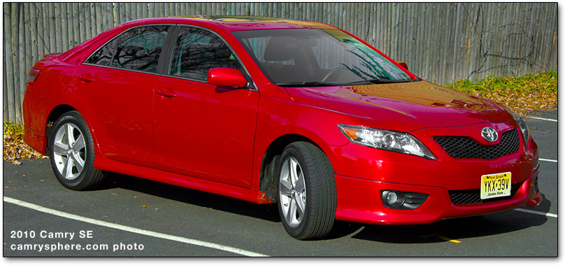 2010 toyota camry cars