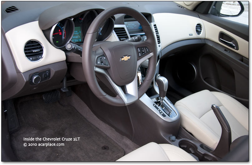 Chevy Cruze cabin