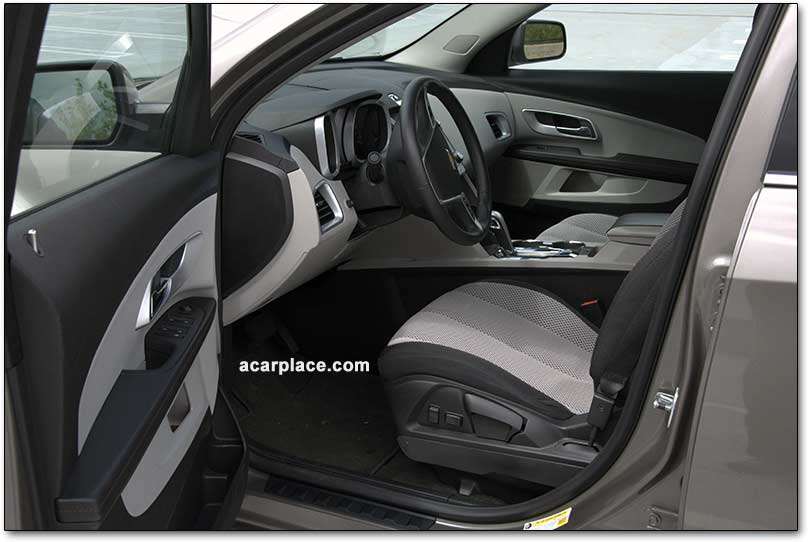 chevrolet equinox crossover seats