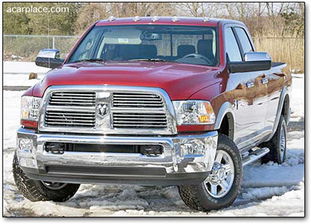 2010 Ram 2500 HD diesel pickup review