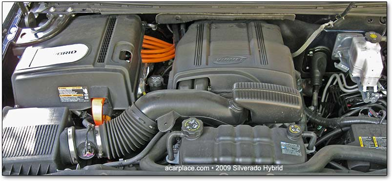 GM hybrid engine for trucks