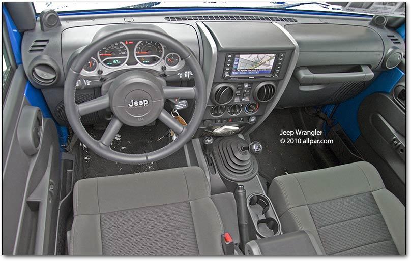 2010 Jeep Wrangler Rubicon Unlimited interior