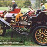 1910 Brush roadster car test drive