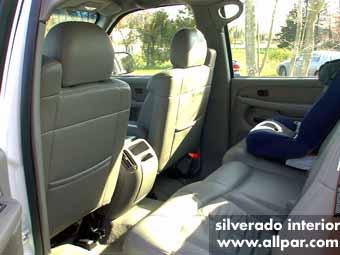 Chevrolet Silverado 2500 interior