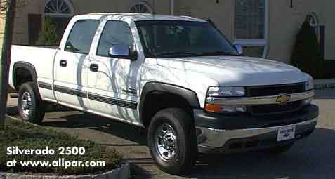 chevy silverado 2500 pickup trucks