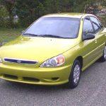 2001 Kia Rio vs the 2001 Dodge Neon