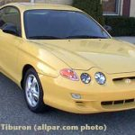 Hyundai Tiburon car review / test drive