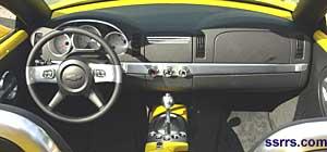 Chevrolet SSR instrument panel picture