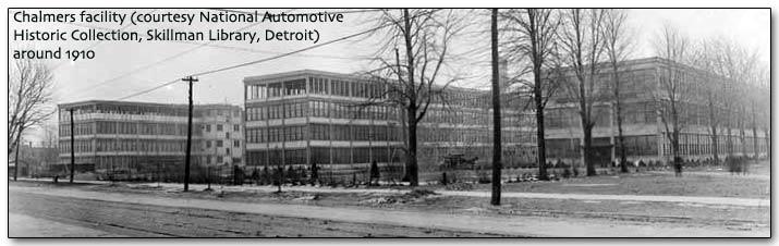 Chalmers Detroit plant