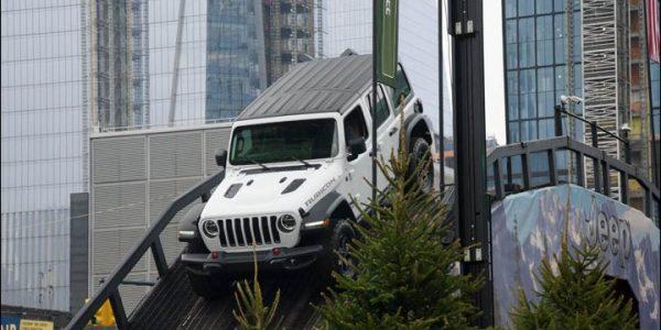 Jeep in Manhattan