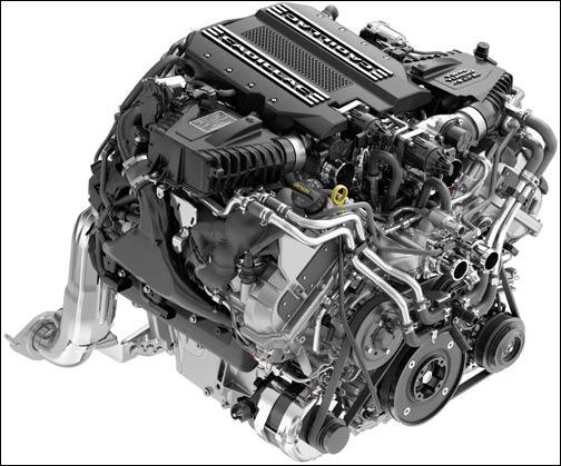 GM Caddy V8