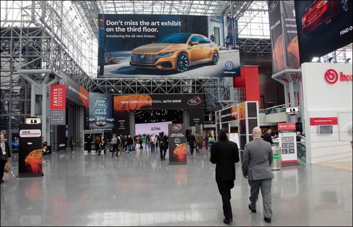 Javits Center - New York Auto Show 2018