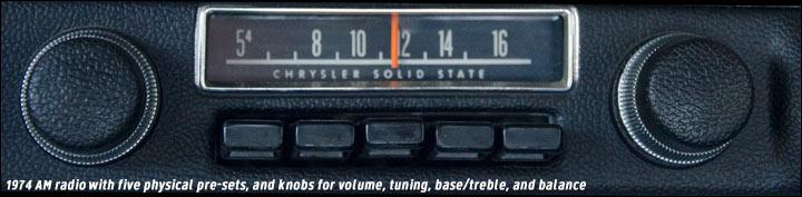 1974 am radio