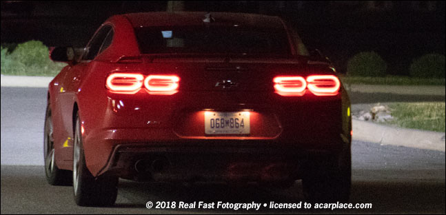 2019 camaro spy shot