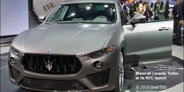 NYC Maserati Levante Trofeo launch