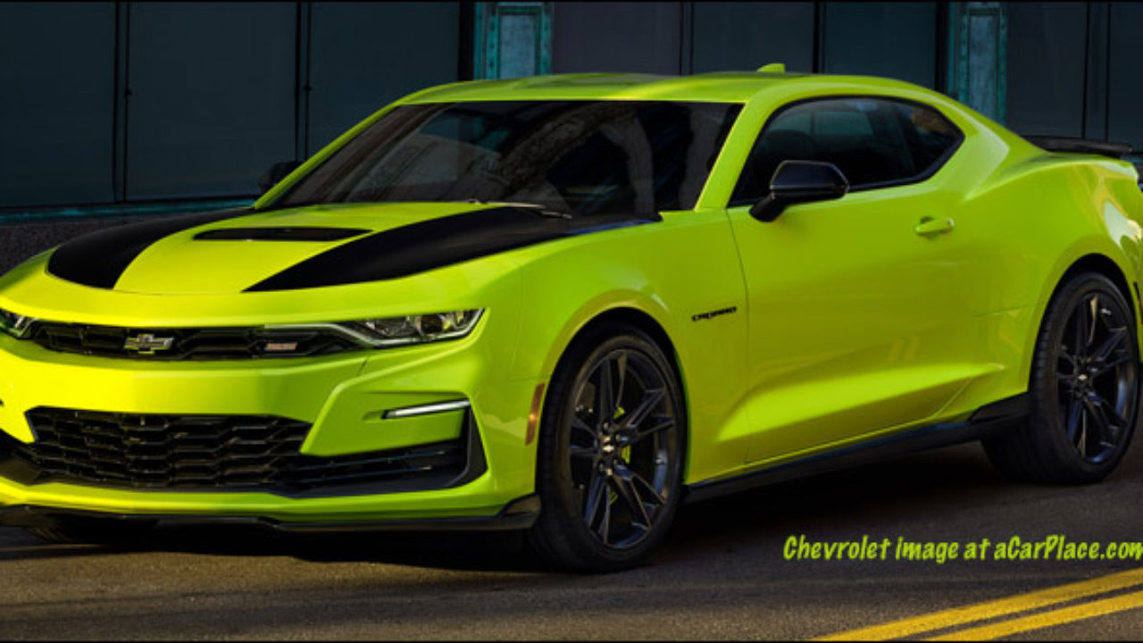 What Does Camaro Mean >> Does This Sema Concept Mean Chevy S Dropping The Awful