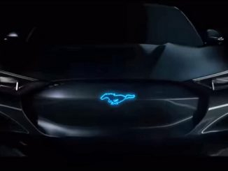 e-mustang: electric Ford muscle car
