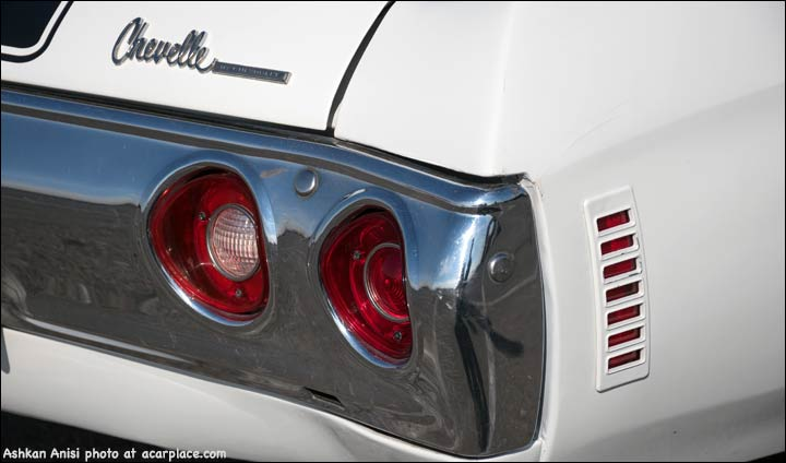 Chevelle tail lights