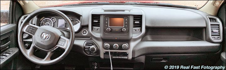 2020 Ram Heavy Duty pickup truck dash