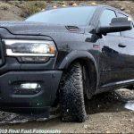 2020 Ram 2500 on dirt road
