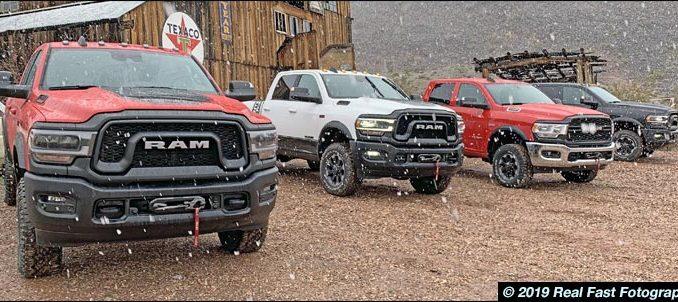 2020 Ram 2500 pickups